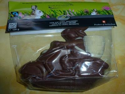 Schokoladen-Oosterhase